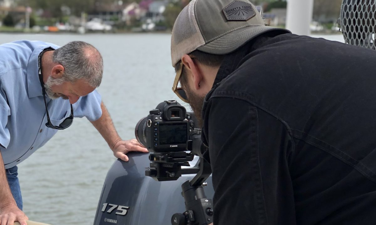 ", Branded ""How to"" Content Shoot: Getting Your Boat Ready for Spring"