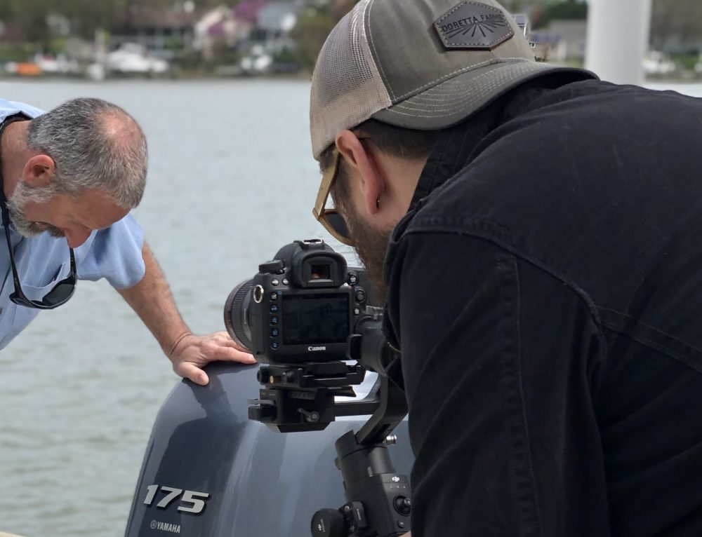 "Branded ""How to"" Content Shoot: Getting Your Boat Ready for Spring"