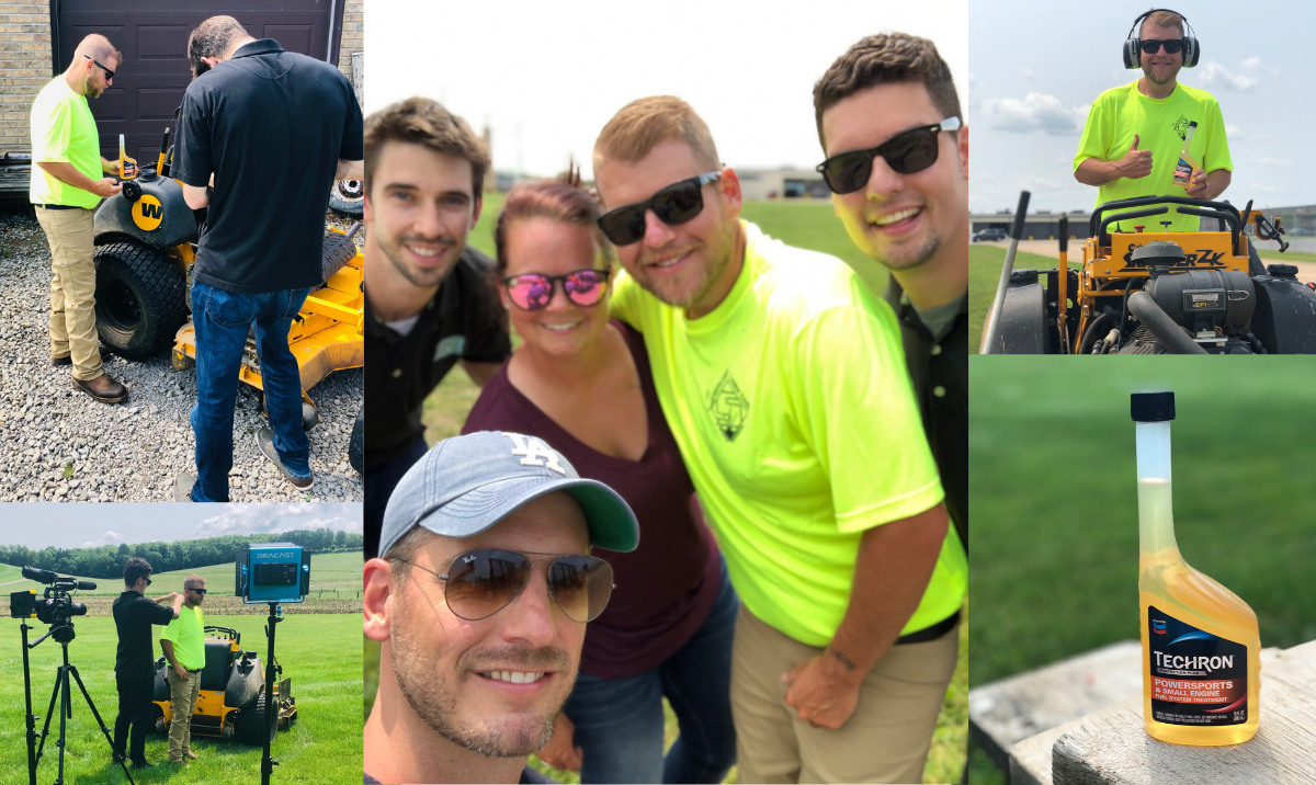 midwest video content agency, Branded Content Shoot: Lawn Care Influencer Shawn Spencer